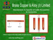 copper alloy clamps - rod to cable clamp - c type by brass copper &