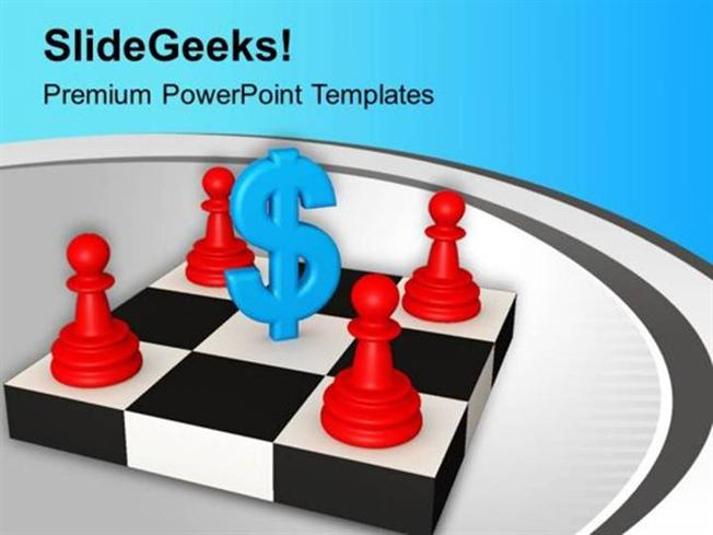 Strategy Business Strategy Teamwork Concept Ppt Template Powerpoint