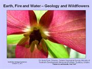 Earth, Fire and Water - Geology and Wildflowers