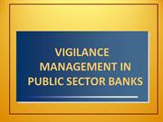 cvc and vigilance management in indian banks