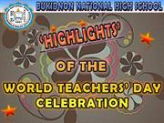 Bukidnon NHS World Teachers' Day Celebration
