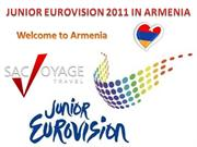 Junior Eurovision 2011 in Armenia with SacVoyage.am