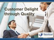 Customer Delight Through Quality by Allan Ung