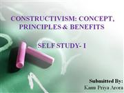 MAIN PPT CONSTRUCTIVISM