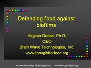 Defending food against biofilms_short