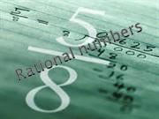 MATHS rational numbers