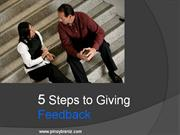 OCT 2011 5-steps-giving-feedback