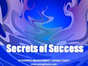 oct 2011 SECRETS OF SUCCESS