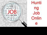 Hunting jobonline | JIMS | Best Management Institute in Delhi/NCR