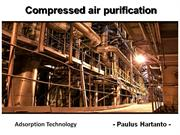 Compressed Air Purification - Adsorption Technology