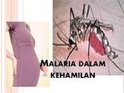 Malaria dalam kehamilan