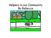 Helpers in our Community Rebecca