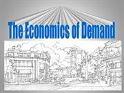 economics of demand vivek