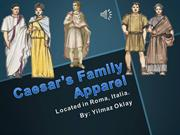 Caesar's Family Apparel latin project clothes