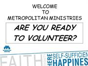 MM Volunteer Orientation