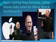 Why Steve Jobs Love to Wear Black Turtlenecks