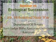 ppt. on ecological succession