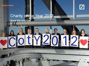 Charities of the Year compiled presentation