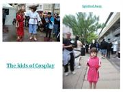 The kids of Cosplay2