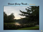 Forever Giving Thanks by Nicola Karesh