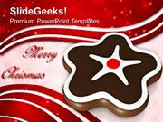 FOOD CHRISTMAS COOKIE CELEBRATION THEME PPT TEMPLATE