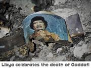 LIBYA celebrate the Death of Gaddafi