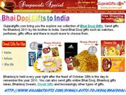 Bhai Dooj Gifts to India, Send Diwali Gifts to India, Bhai Dooj Gifts