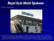 Royal Scot Motel Spokane