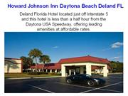 Howard Johnson Inn Daytona Beach Deland FL