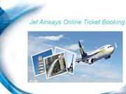 Plan journey with jet airways online ticket booking