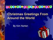 Christmas Greetings From Around the Worl