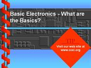 Basic Electronics
