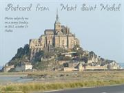 Postcard from Mont St Michel 2011