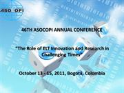 46TH ASOCOPI ANNUAL CONFERENCE