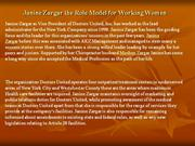Janine Zargar the Role Model for Working Women