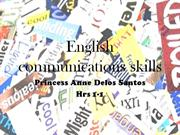 English communications skills