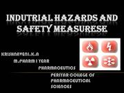 INDUSTRIAL HAZARDS