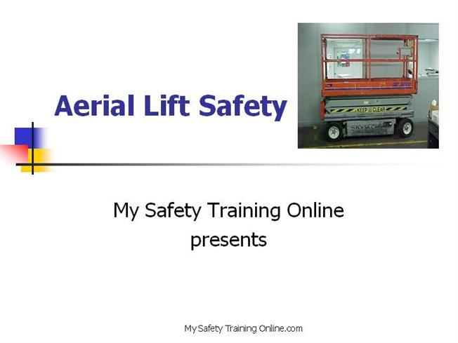 aerial lift safety v5 authorstream