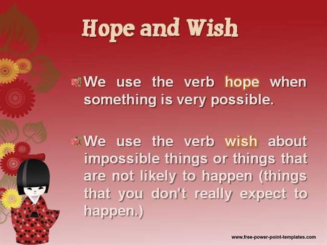 Image result for hope and wish