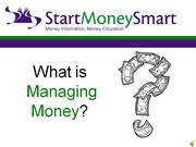 What is a good Money Manager?