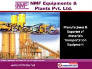 Industrial Silos NMF Equipments and Plants Pvt Ltd New Delhi