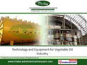 Solvent Extraction Plants Troika Processes Private Limited Mumbai