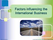 Factors Influencing IB_07.10.2011