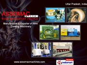 Dry Wire Drawing Machine  Assomac Machines Ltd Ghaziabad