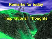 Inspirational thoughts 2
