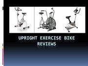 Upright exercise bike reviews