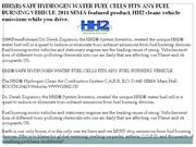 HH2(R) SAFE HYDROGEN WATER FUEL CELLS FITS ANY FUEL BURNING VEHICLE