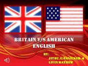 Britain vs American English