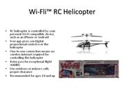 Wi-Fli™ RC Helicopter