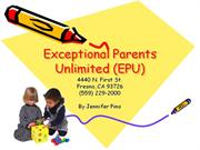 Exceptional Parents Unlimited